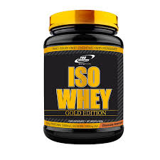 ISO WHEY- GOLD EDITION 900g