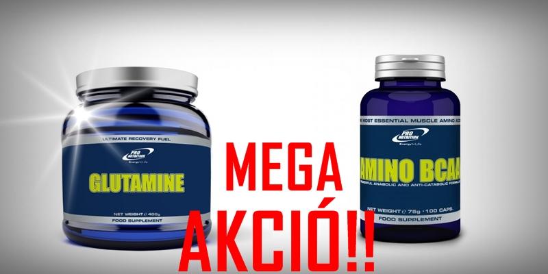 Glutamine(400g)+Amino BCAA(100tabl.)